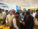 Hon'ble MoS(I/C) PNG Visited stalls of Oil Marketing Companies & other exhibitors at the Pearl Jubilee Celebration of All India LPG Federation at Coimbatore on 10th Jan'17