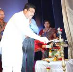 """Hon'ble MoS(I/C) PNG inaugurating an International conference on """"Indian Cultural Heritage:Past, Present & Future"""" organised by Utkal University & Institute of Media Studies on 18th Mar'17"""