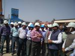 Hon'ble MoS(I/C) PNG visited the OPaL Petrochemical plant at Dahej On 27th Feb'17.