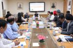Hon'ble MoS(I/C) PNG discussed the road ahead in a meeting with Senior Petroleum Ministry & PSU OMCs officials on 15th Mar'17