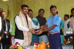 Hon'ble MoS(I/C) PNG distributed artificial aids developed by Artificial Limbs Manufacturing Corporation of India (ALIMCO) to divyangs in a programme at Sisupalgarh in Bhubaneswar on 10th Dec'16