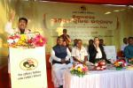 Hon'ble MoS(I/C) PNG addressing during the inauguration of Historical Heritage Gate at Sisupalgarh village, Odisha on 10th Dec'16