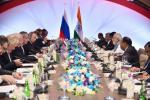 Hon'ble MoS(I/C) PNG Participated in official talks between Indian and Russian delegation under leadership of Hon'ble PM of India & H.E. Russian President on 15th Oct'16 at Goa