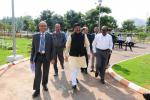 Hon'ble MoS(I/C) PNG arrived at Hindustan Petroleum's Green R&D Centre in Devengunthi, Bengaluru on 14th Oct'16