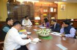 Hon'ble MoS(I/C) PNG discussing possible ways to use natural gas to fight pollution problems with Ms. Sunita Narain of CSE at New Delhi on 7th Nov'16