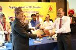 Hon'ble MoS(I/C) PNG along with Hon'ble Minister of Supplies, Nepal, presided over the signing of MoU for POL supplies between Nepal Oil Corporation & Indian Oil Corporation Ltd at New Delhi on  27th Mar'17