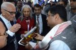 Hon'ble MoS(I/C) PNG Visited the various stalls at the Petrotech2016 Exhibition at Pragati Maidan, New Delhi on 4th Dec'16