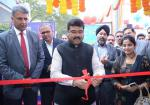 Hon'ble MoS(I/C) PNG Inaugurated the Customer Awareness Camp on CashlessTransactions at HPCL Retail Outlet, Niti Marg, New Delhi on 3rd Dec'16