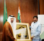 Hon'ble Union Minister of P&NG and SD&E had a fruitful meeting with Minister of Energy, Industry & Mineral Resources, Saudi Arabia on 23rd Feb'18 at New Delhi.