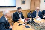 Union Minister of P&NG and SD&E Shri Dharmendra Pradhan briefing the media at New Delhi on 22nd Jan'18 on acquisition of HPCL by ONGC cleared by the Govt.