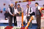 Union Minister of P&NG and SD&E Shri Dharmendra Pradhan and Minister of State for Railways Sh Rajen Gohain inaugurated the 2nd entry to Bhubaneswar Railway Station and dedicated modern passenger amenities likes new booking office & passengers lounge at Bhubaneswar and Sakhigopal Railway Stations on 30th Dec'17