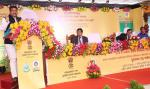 Union Minister of P&NG and SD&E speaking on the occasion of signing of Memorandum of Agreement between BPCL & Orissa University of Agriculture and Technology for setting up of a 'Biofuel Chair' at Bhubaneswar on 24th Jan'17
