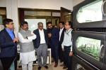 Union Minister of P&NG and SD&E at the Bioprocessing Laboratory at IIT Mumbai on 12th Dec'17.