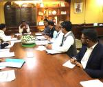 Union Minister of P&NG and SD&E  reviewed the National Highway Projects in Odisha. At New Delhi on 21st Nov'17