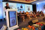 Union Minister of P&NG and SD&E addressing the Petrochemical Investors Conclave 2017 at Bhubaneswar on 16th Nov'17