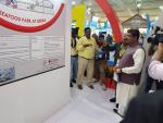 Union Minister of P&NG and SD&E Visited stalls in Odisha Pavilion at World Food India organized by the Ministry of Food Processing Industries at New Delhi on 5th Nov'17