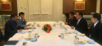 Union Minister of P&NG and SD&E met Energy Minister of Myanmar, reviewed Indian investment projects in Myanmar, discussed cooperation in several other areas on the sidelines of 7th Asian Ministerial Energy Roundtable of IEF at Bangkok on 2nd Nov'17
