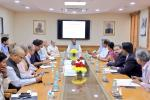 Union Minister of P&NG and SD&E along with MoS(I/c) Housing & Urban Affairs and LG NCT of Delhi held a meeting to evaluate various municipal waste-to-fuel technologies at New delhi on 27th Oct'17
