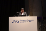Union Minister of P&NG and SD&E delivering the keynote address at the gathering of Ministers, CEOs, Energy experts & international LNG industry members at 6th LNG Producer-Consumer Conference in Tokyo on 18th Oct'17