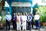 Union Minister of P&NG and SD&E at DBT-ICT Centre of Energy Biosciences during his visit to Institute of Chemical Technology, Mumbai to deliver the  Foundation Day Lecture as Chief Guest on 7th Oct'17