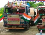 1st consignment of 30 MT of Diesel was dispatched on 4th Sept'17 from India to Myanmar by land route in line with Hon'ble PM's policy of ActEast
