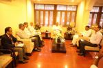MoS(I/C) PNG discussed the Paradip Refinery Tax Issue with the Chief Minister of Odisha at Odisha Bhawan, New Delhi on 18th Aug'17