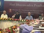 Hon'ble MoS(I/C) PNG Interacted with PDPU professors in   Gandhinagar on 29th Jul'17 at New Delhi