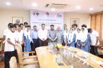 Hon'ble MoS(I/C) PNG & J&K Minister of Food, Civil Supplies and Consumer Affairs Met the Petronet Kashmir Super 30 students who have qualified for IITs/NITs/Regional Engg. colleges at New Delhi on 14th June'17