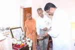 Hon'ble MoS(I/C) PNG paying tribute to Sister Nivedita, the great disciple of Swami Vivekanand at her residence at Kolkata on 13th June'17