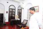 Hon'ble MoS(I/C) PNG at the residence of Swami Vivekanand at Kolkata on 13th June'17