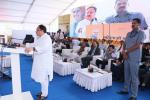 Hon'ble Union Health Minister addressing the gathering during the launch of PMUjjwalaYojna in Himachal Pradesh at Solan on 08th June'17