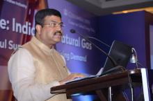 Hon'ble MoS(I/C) PNG addressing the Global Energy Dialogue:India & Natural Gas organized at New delhi on 30th Nov'16