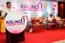 Hon'ble MoS(I/C) PNG addressed 4th Kalinga Literature Festival at Bhubaneswar on 10th June'17