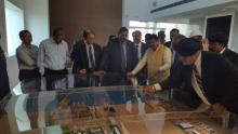 Hon'ble MoS(I/C) PNG visited Shipyard of L&T which is used for Defence purpose on 24th July'2016